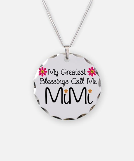 My Greatest Blessings Necklace