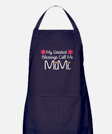My Greatest Blessings Apron (dark)