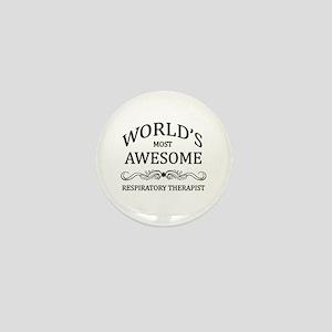 World's Most Awesome Respiratory Therapist Mini Bu