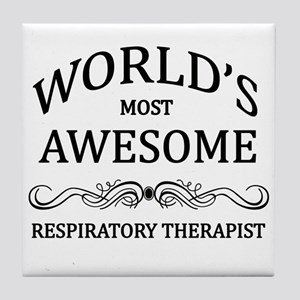 World's Most Awesome Respiratory Therapist Tile Co