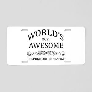 World's Most Awesome Respiratory Therapist Aluminu