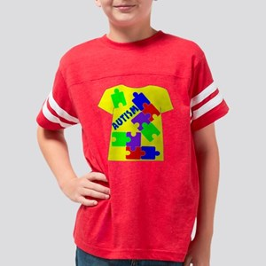 AUTISM Youth Football Shirt