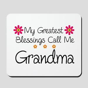 Blessings Grandma Mousepad