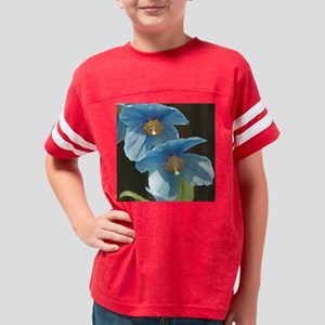 Sunny Meconopsis by orchidgal Youth Football Shirt