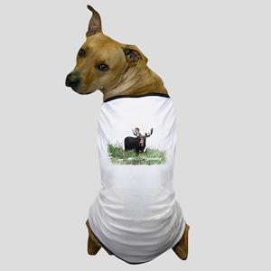 Wyoming Moose Dog T-Shirt