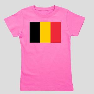 Belgium Girl's Tee