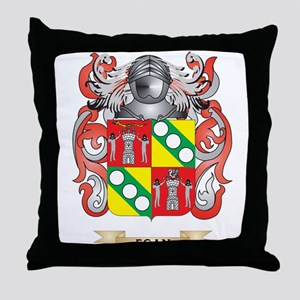 Egan Coat of Arms Throw Pillow
