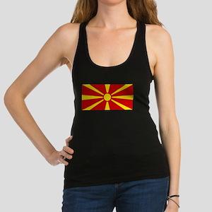 Macedonia Racerback Tank Top