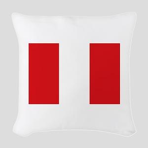 Peru Woven Throw Pillow