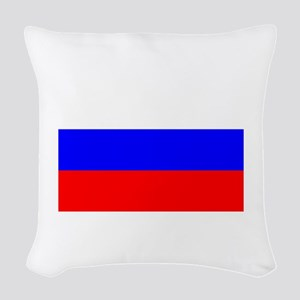 Russia Woven Throw Pillow