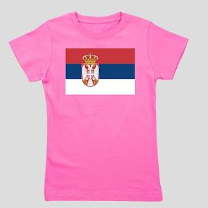 Serbia Girl's Tee