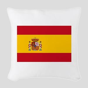 Spain Woven Throw Pillow