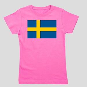 Sweden Girl's Tee