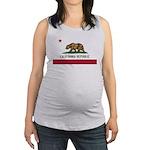 California Maternity Tank Top