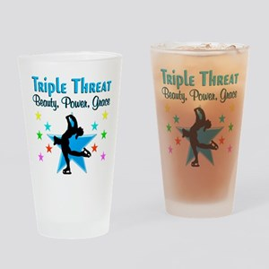 FIGURE SKATER Drinking Glass
