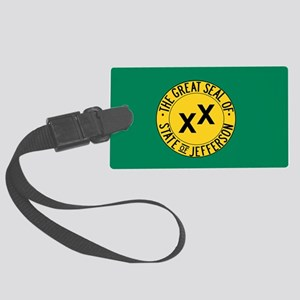 State of Jefferson Luggage Tag