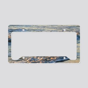Surf at Sunset License Plate Holder