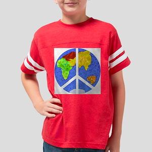 peaceworldornament Youth Football Shirt