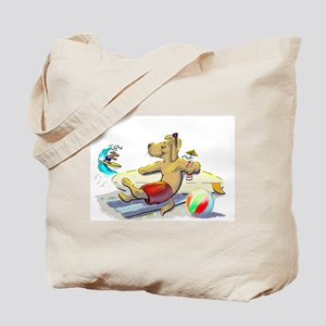 sUrF DoG Tote Bag