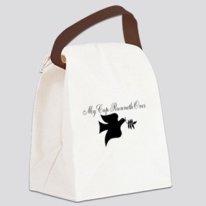 My Cup Runneth Over Canvas Lunch Bag