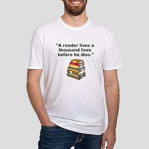 A Reader Lives 1000 Lives T-Shirt