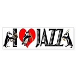 Jazz Bumper Sticker