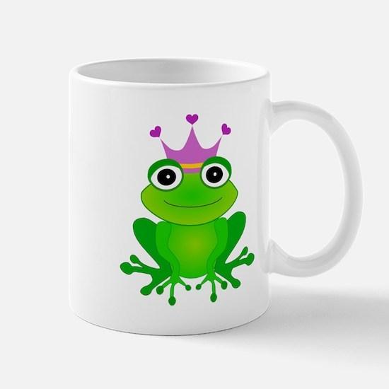 Purple Crown Frog Prince Mug