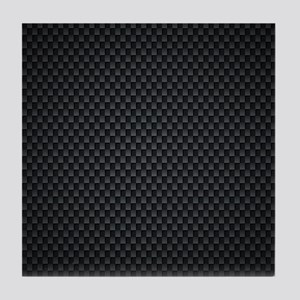 Carbon Mesh Pattern Tile Coaster