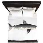 Salmon Shark f King Duvet