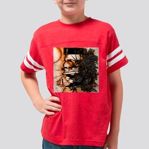 KONVIKT (ORANGE) Youth Football Shirt