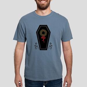 Vampire Holiday Coffin Mens Comfort Colors Shirt