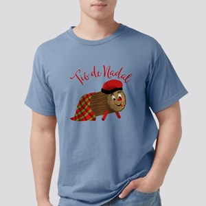 Tio De Nadal Mens Comfort Colors Shirt