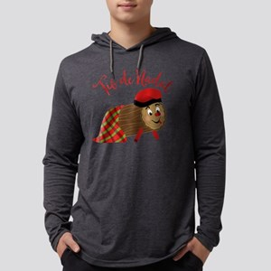 Tio De Nadal Mens Hooded Shirt