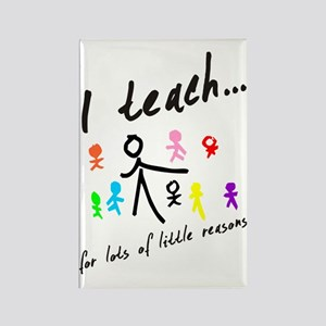 Teacher Rectangle Magnet