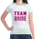 Team Bride Jr. Ringer T-Shirt