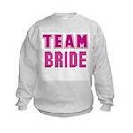 Team Bride Kids Sweatshirt