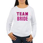 Team Bride Women's Long Sleeve T-Shirt