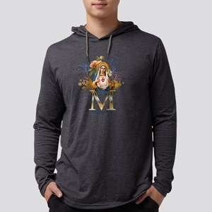 Immaculate Heart of Mary Mens Hooded Shirt