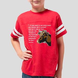killityourself5_trans Youth Football Shirt