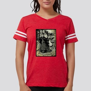 vic-halloween-collage_gc-tee Womens Football S