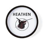 Heathen Wall Clock