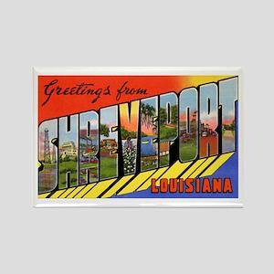 Shreveport Louisiana Greetings Rectangle Magnet