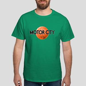 Motor City Basketball Dark T-Shirt