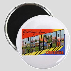Shreveport Louisiana Greetings Magnet