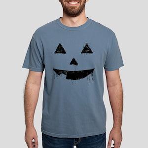 pumpkin-face-painty_bl Mens Comfort Colors Shi