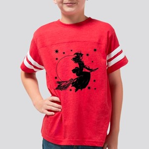 Old Fashioned Witch Youth Football Shirt