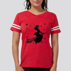 Old Fashioned Witch Womens Football Shirt