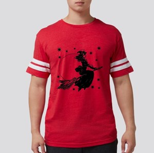 Old Fashioned Witch Mens Football Shirt