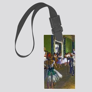 Degas - The Ballet Class Large Luggage Tag