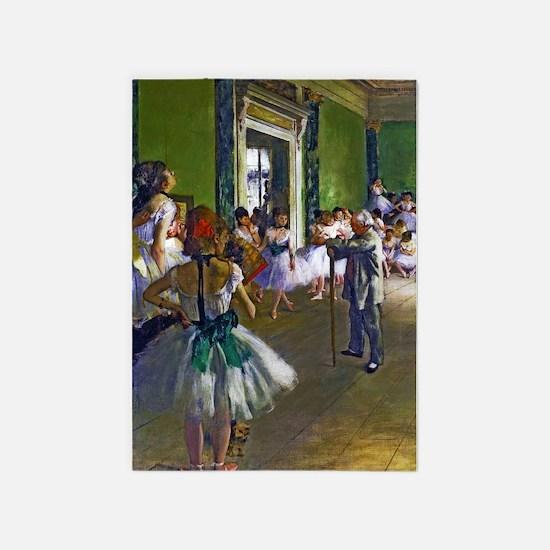 Degas - The Ballet Class 5'x7'Area Rug